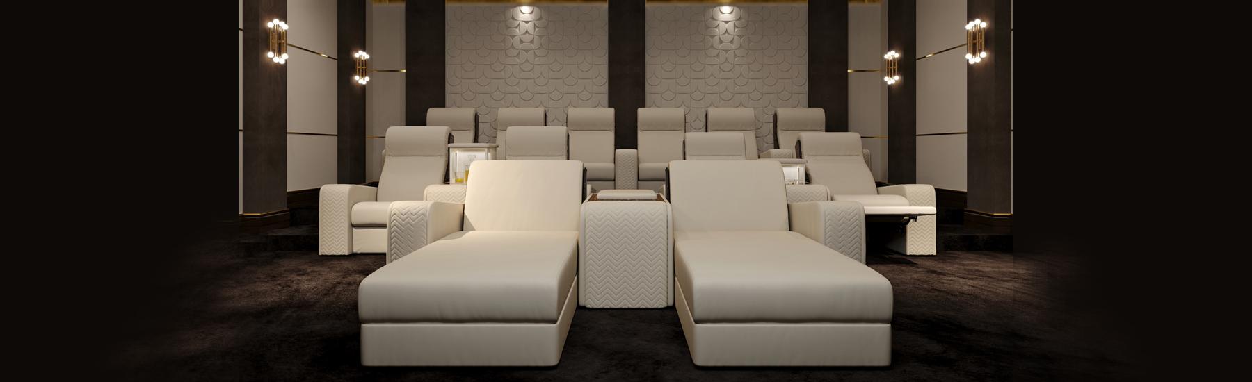 Onassis Home Cinema Seatings