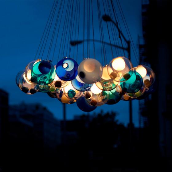 28 Cluster Suspension Lamp