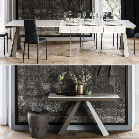 Convivium Extendable Console to Table