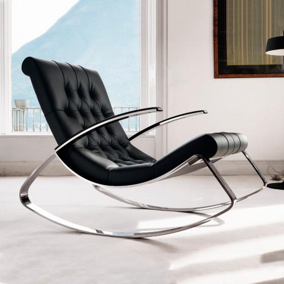 Kel Rocking Lounge Chair