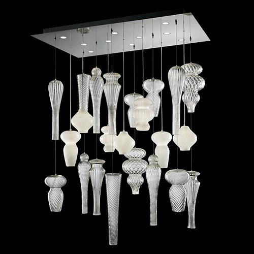 Murano due lighting Pendant Ceiling Lamps Lovidsgco Contemporary Murano Italian Lighting Designer Luxury Collections