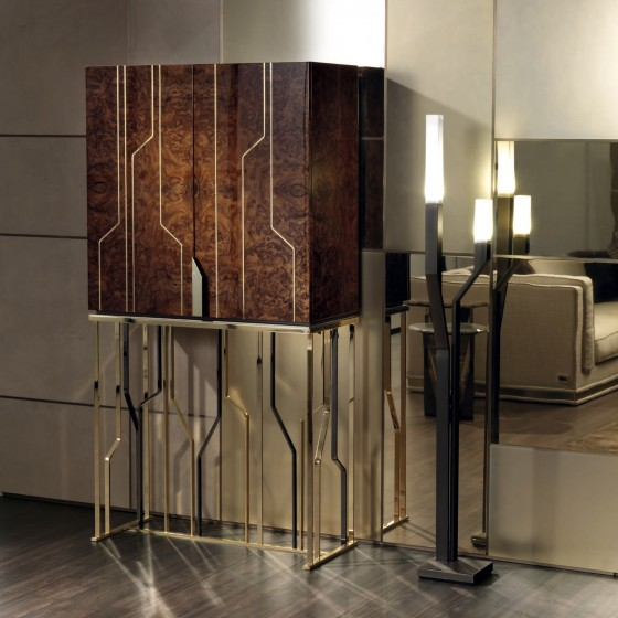 High End Italian Ginza Bar Cabinet Italian Designer