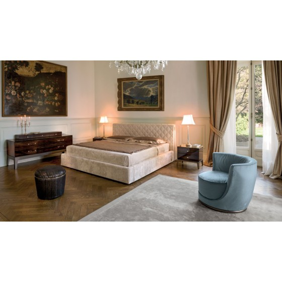 High End Helmut Italian Design Bed Italian Designer