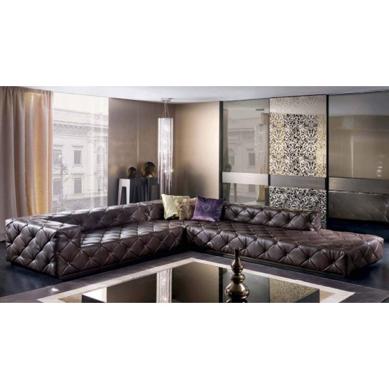 Must High End Glamour Sectional Italian Designer