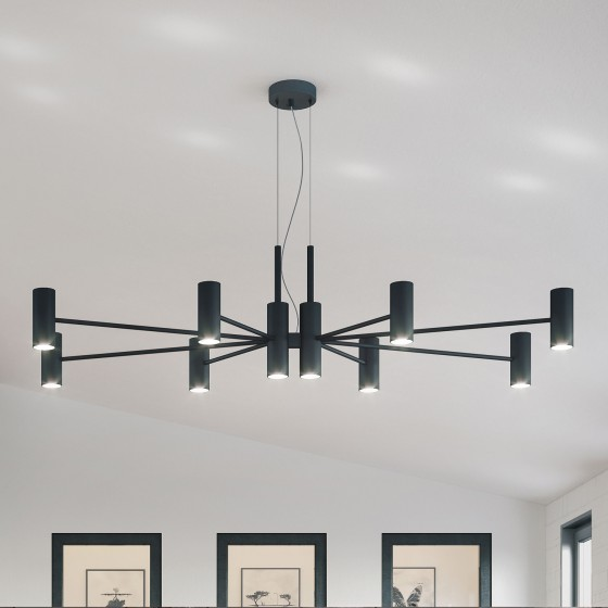 Chandelier Longue Suspension Lamp