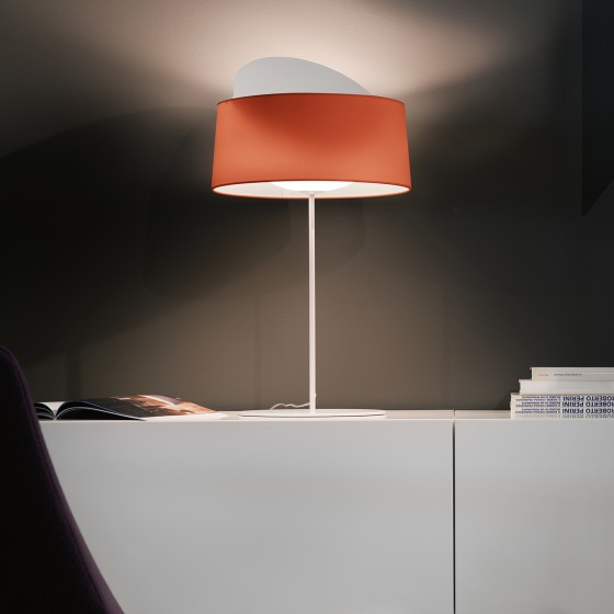 Disk Table Lamp