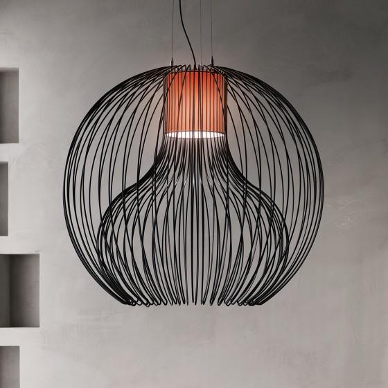 Icaro Ball Suspension Lamp