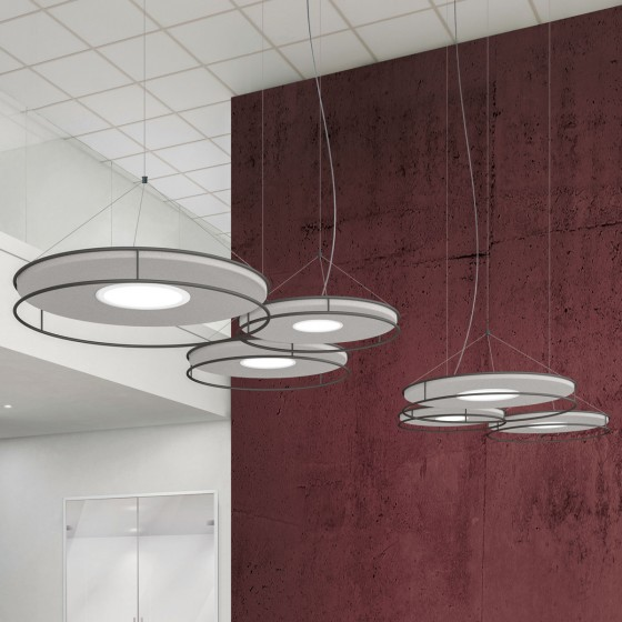 Idea Suspension Lamp Composition