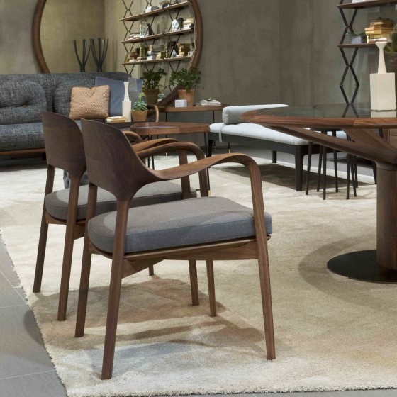 Ella Dining Room Bar: High-end Italian Designer Ella Armchair