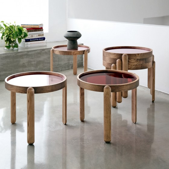 Trittico Side Table