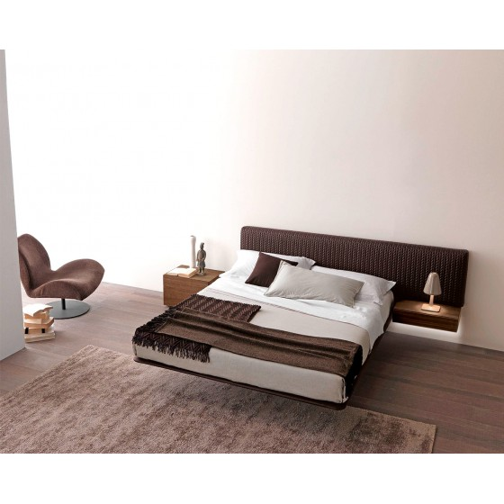 High End Italian Designer Wing System Up Bed Italian