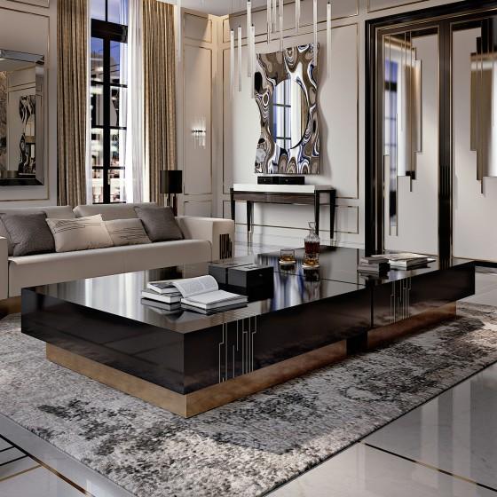 Luxury italian designer belle epoque coffee table italian designer lu - Belle epoque interiors ...