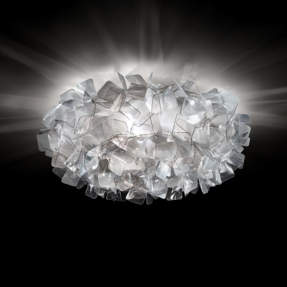 Clizia Fumé Ceiling/Wall Lamp