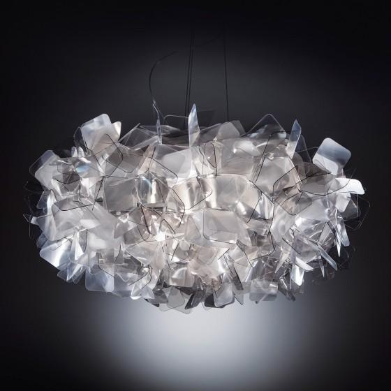 Clizia Fume Suspension Lamp