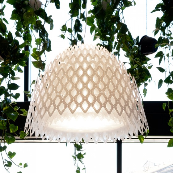 Half Charlotte Suspension Lamp