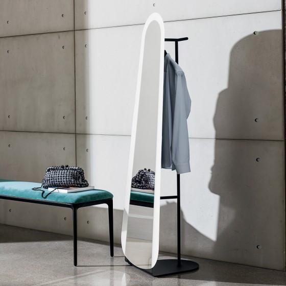 Clessidra Mirror/Coat Rack