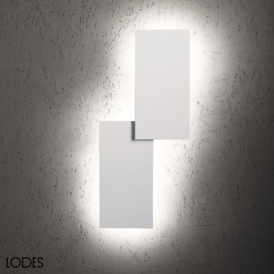 Puzzle Double Rectangular  Wall Lamp