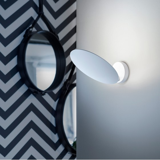 Puzzle Single Round Wall Lamp