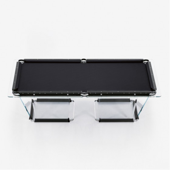 T1.1 & T1.8 Black/Bronze Pool Table