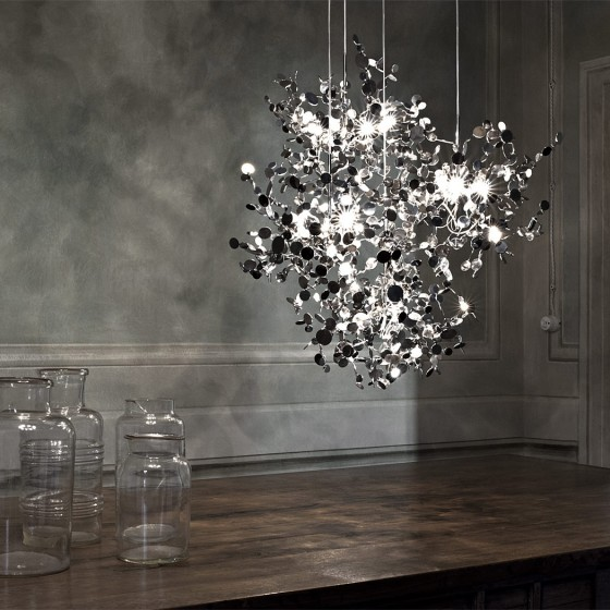 Argent Suspension Lamp