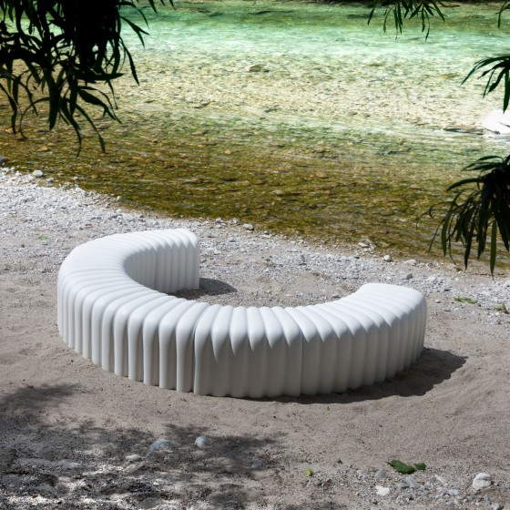River Snake Bench