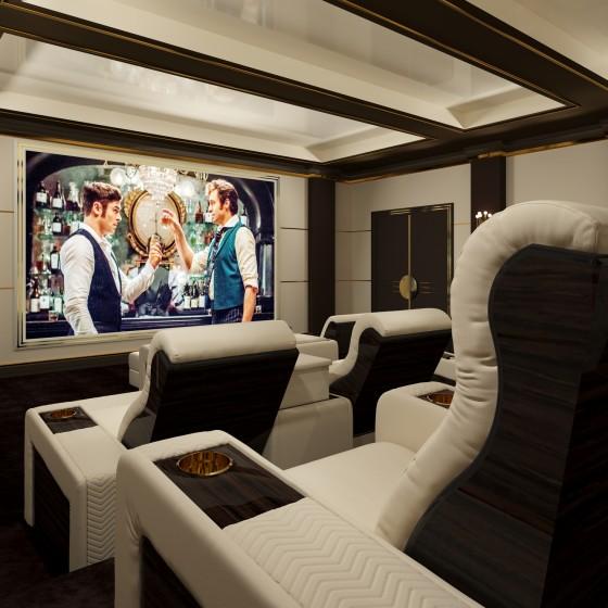 Onassis Home Cinema Seating