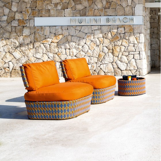 Kente Lounge Chair