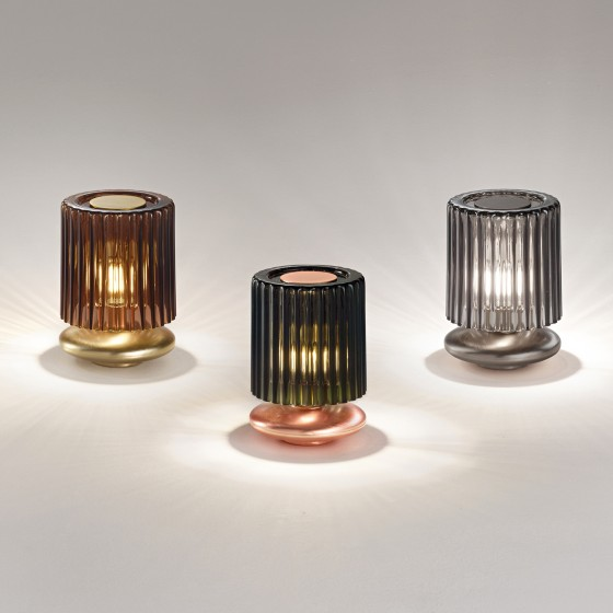 Tread Table Lamp