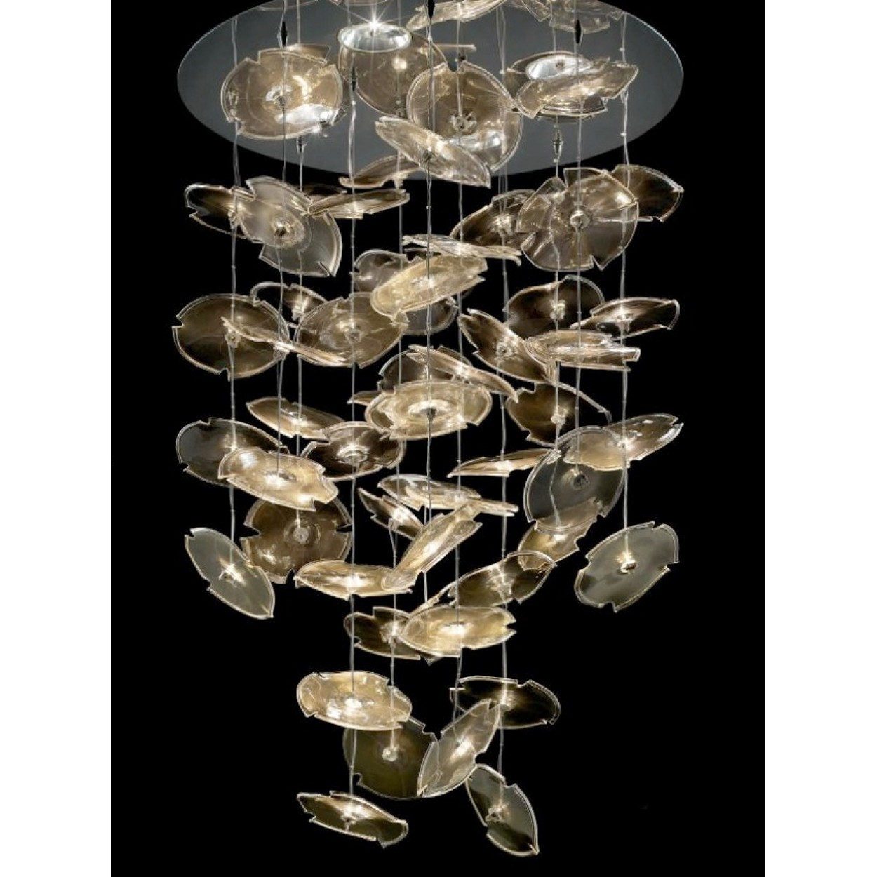 CUSTOM SIZE CONTEMPORARY LIGHTING FIXTURE