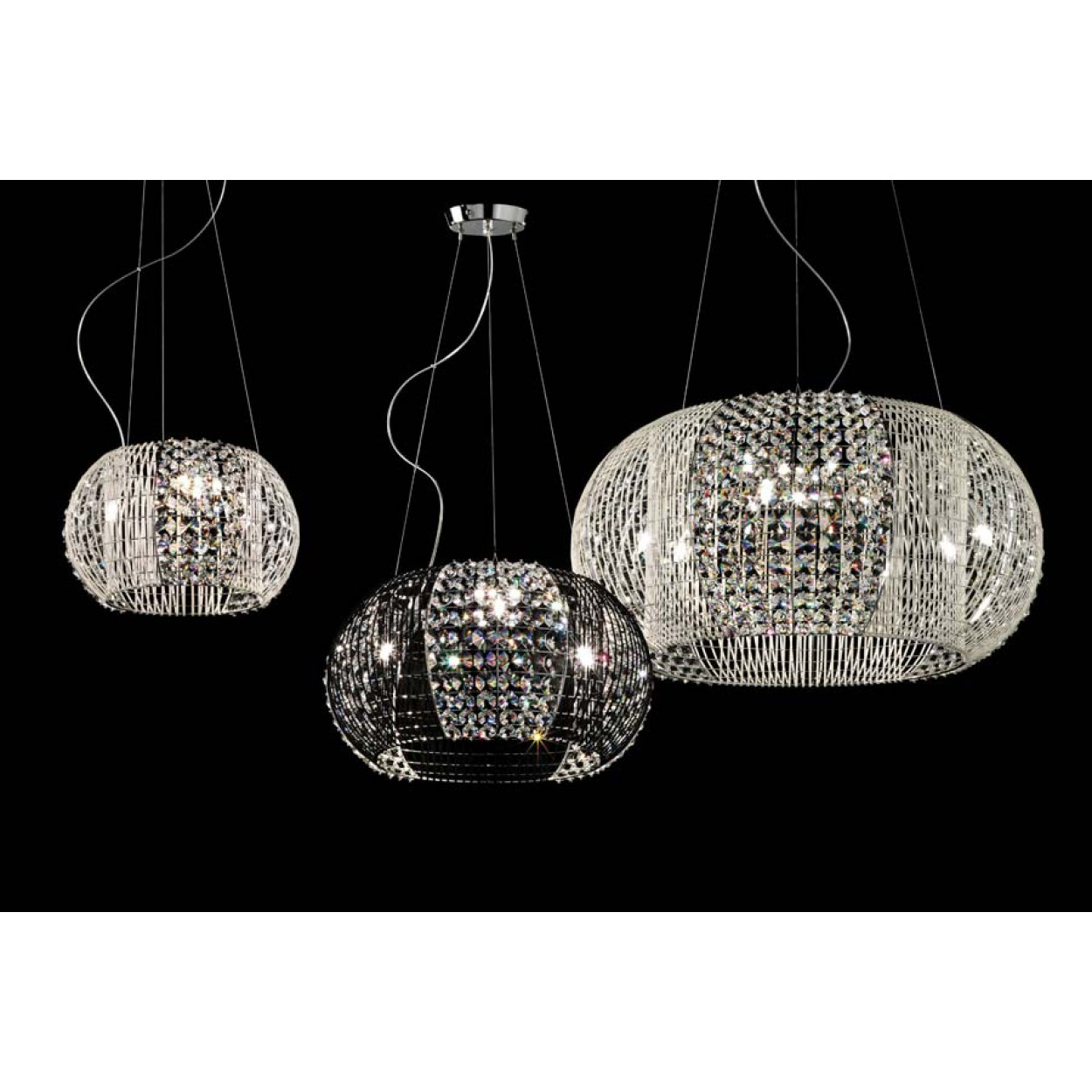 CONTEMPORARY SUSPENSION LAMPS FIXTURE