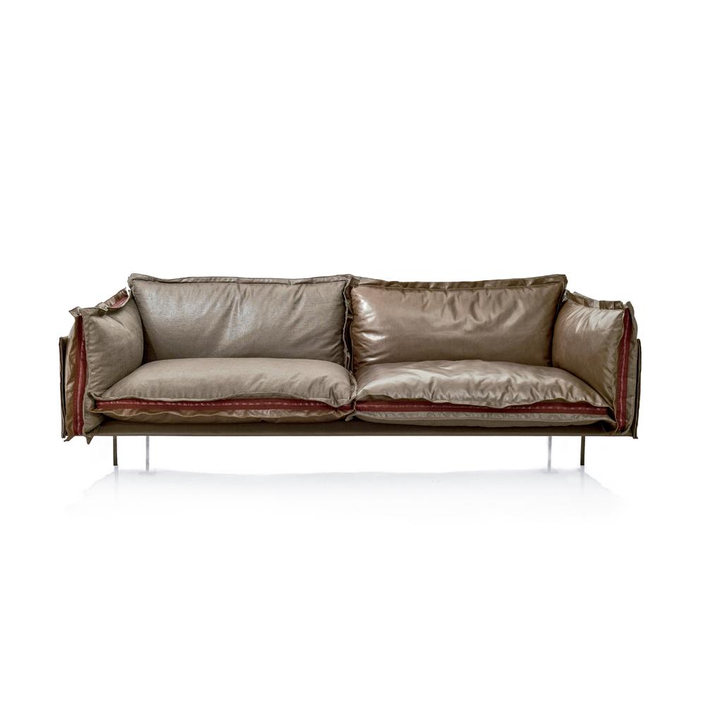 Italian high end auto reverse sofa italian designer for Italian designer sofas