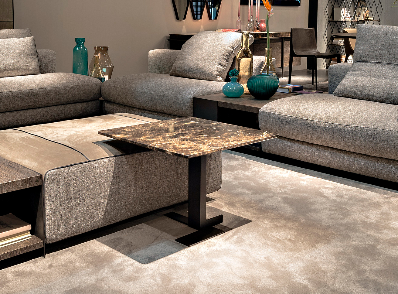 Lith Luxury Contemporary Side Table Italian Designer