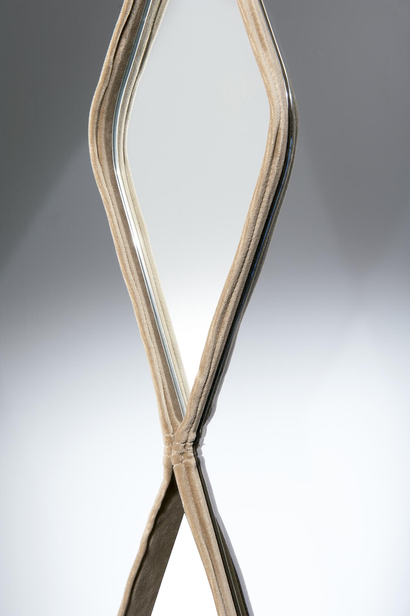 Contemporary Italian Vanity Fair Mirror Italian Designer