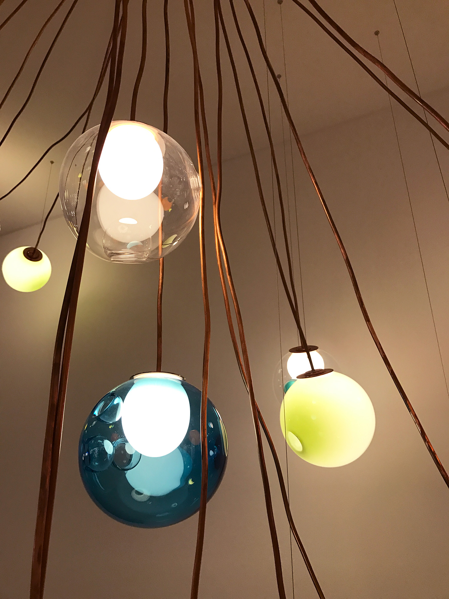 28 Copper Suspension Lamp