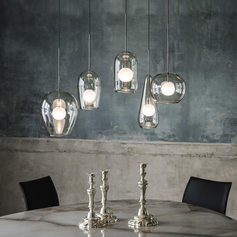Designer Melody Suspension Lamp Italian Designer