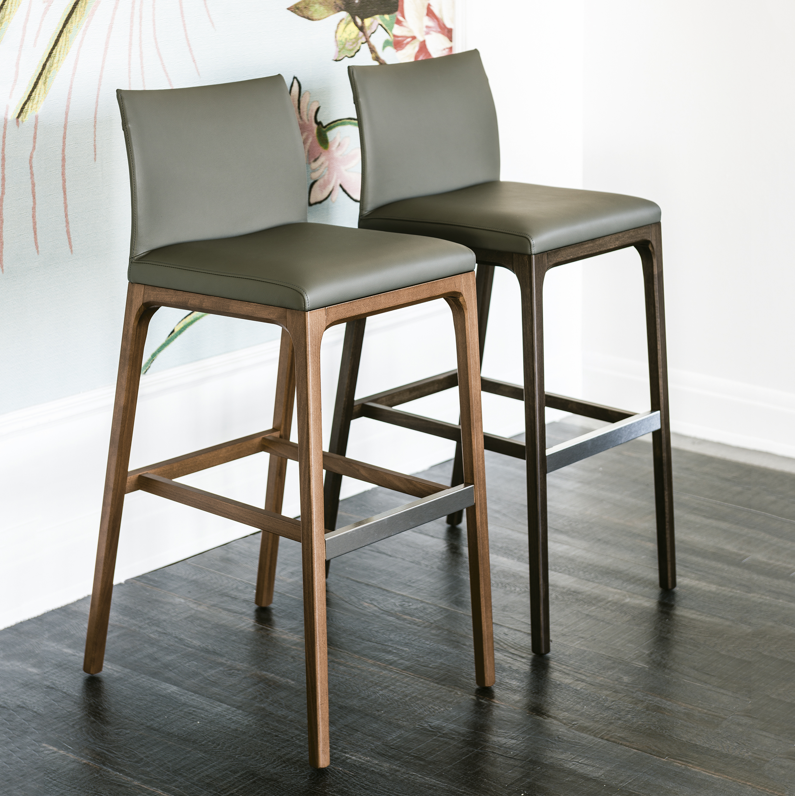 Arcadia luxury contemporary stool italian designer for High end counter stools