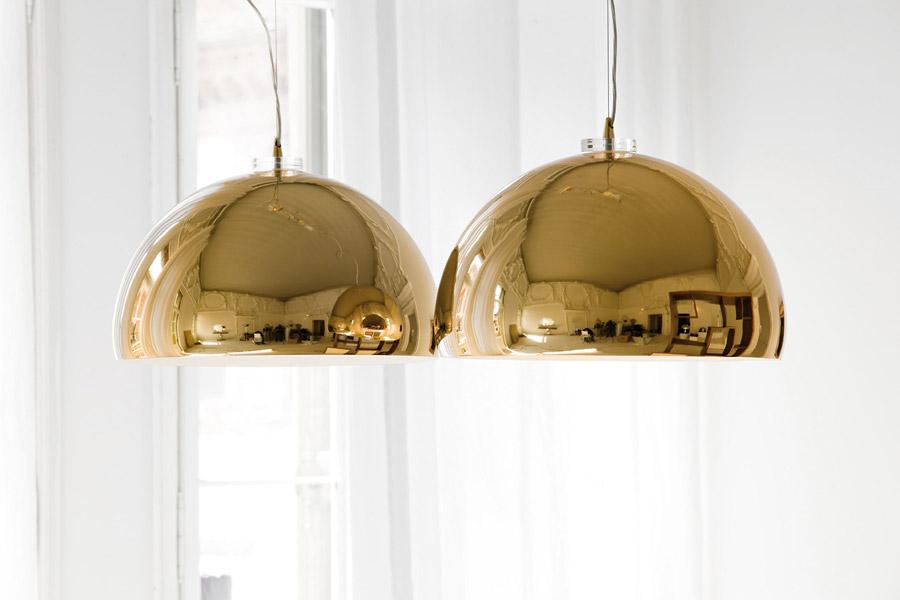 Luxury Italian Designer Calimero Suspension Lamp Italian
