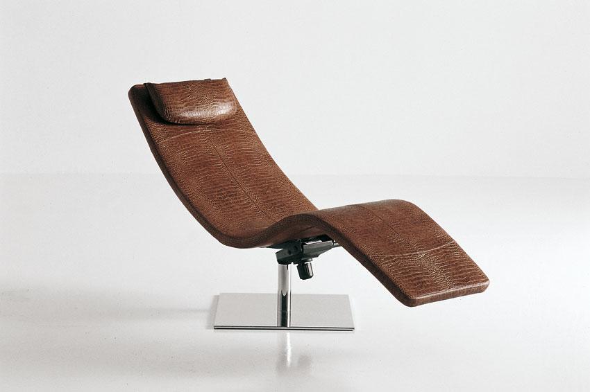 Casanova Luxury Italian Chaise Lounge Italian Designer