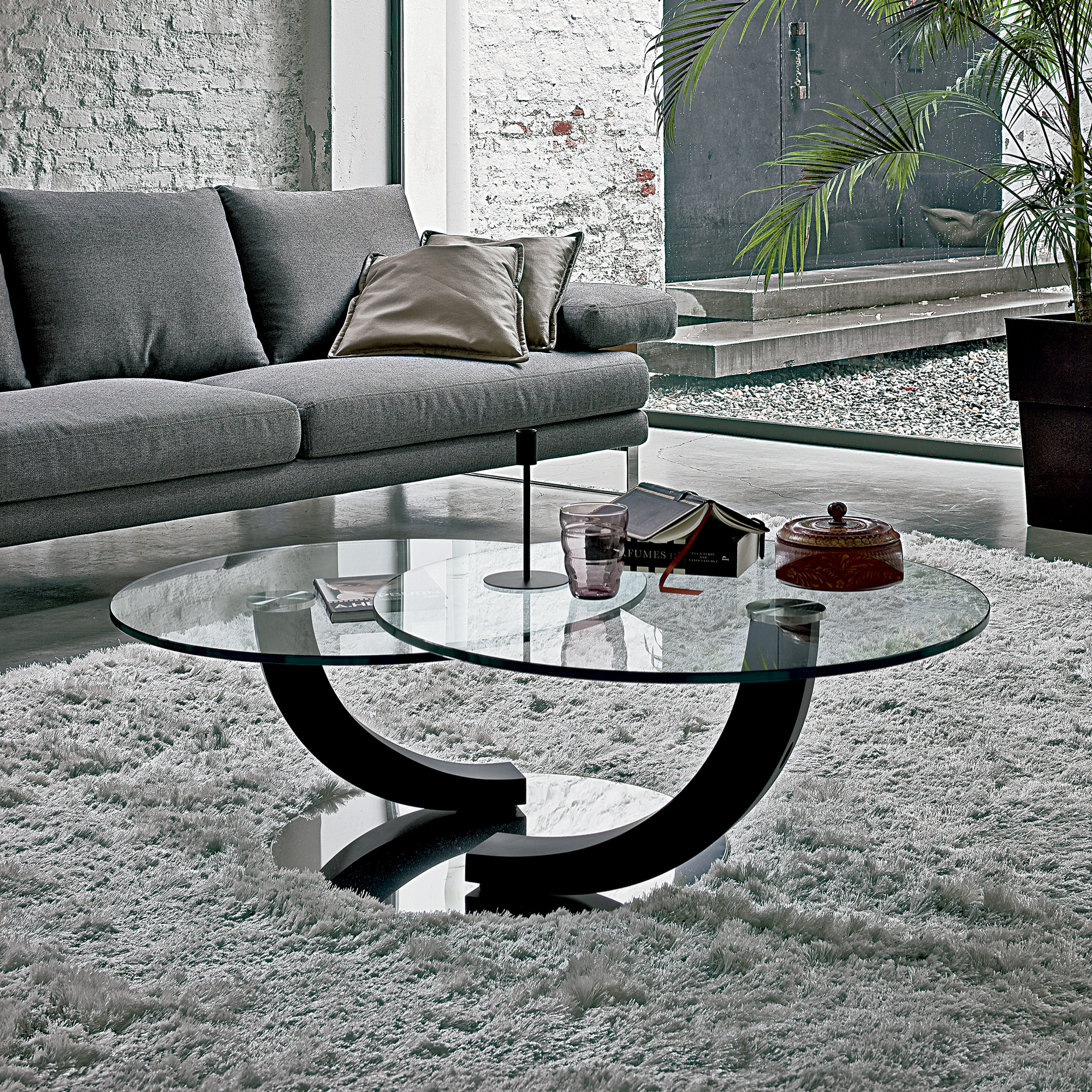 Cobra Inox Luxury Designer Coffee Table Italian Designer