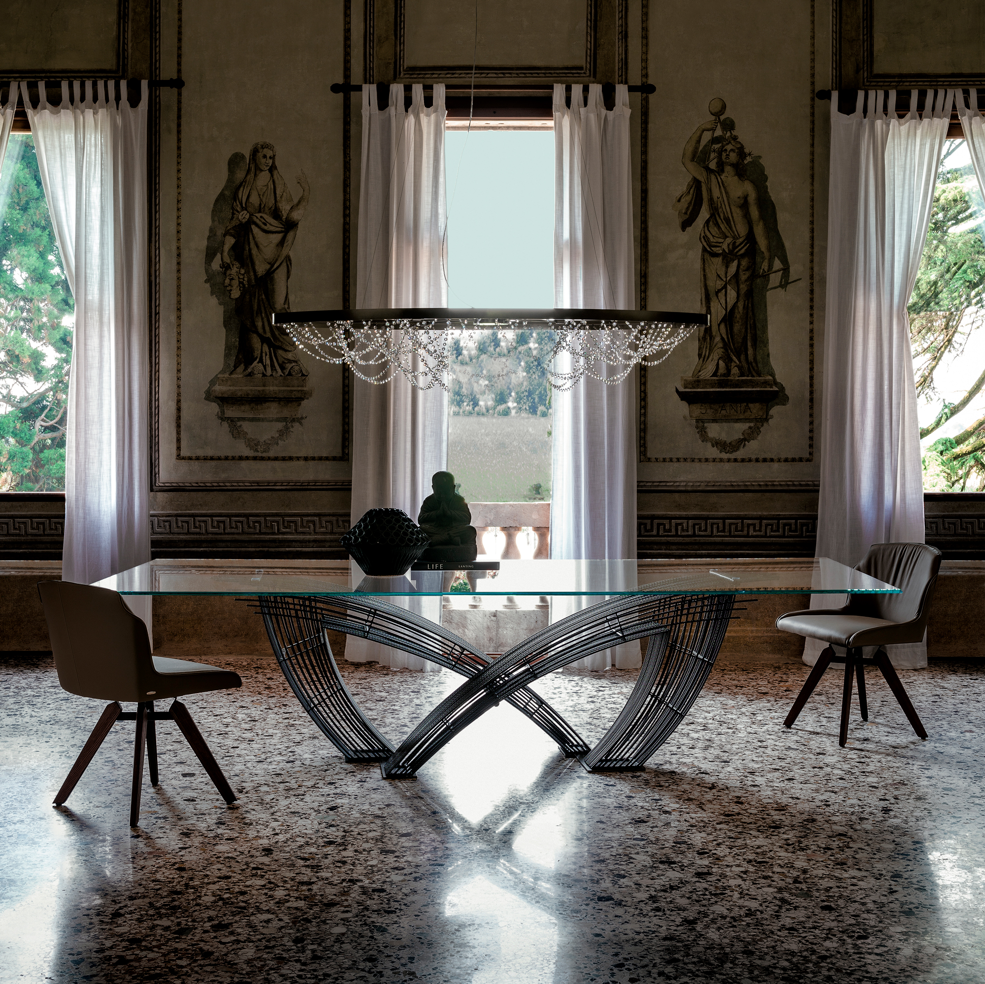 15 High End Contemporary Dining Room Designs: Italian Designer & Luxury