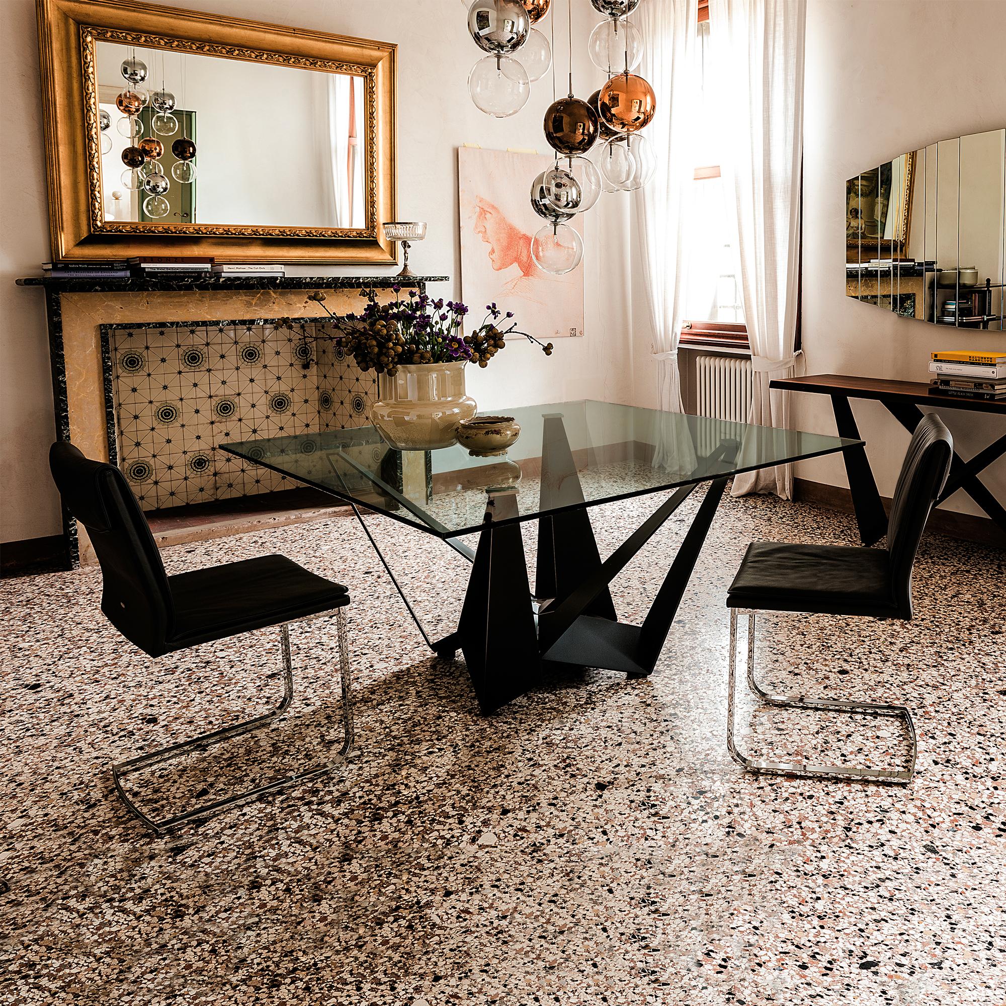 High End Italian Designer Skorpio Table Italian Designer