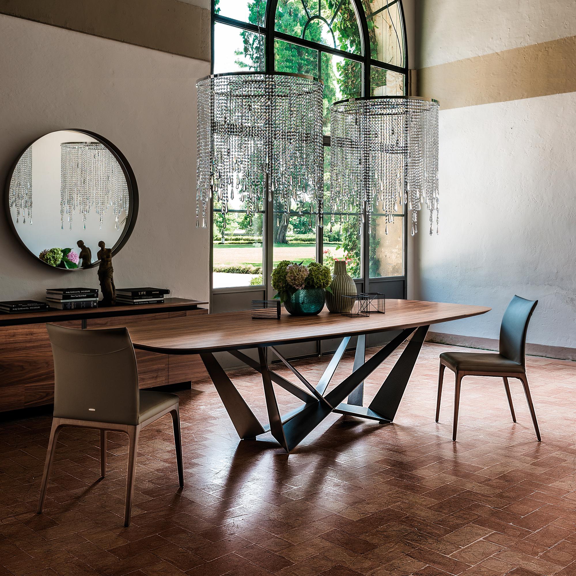 italian wood furniture. Skorpio Wood Table Italian Furniture T