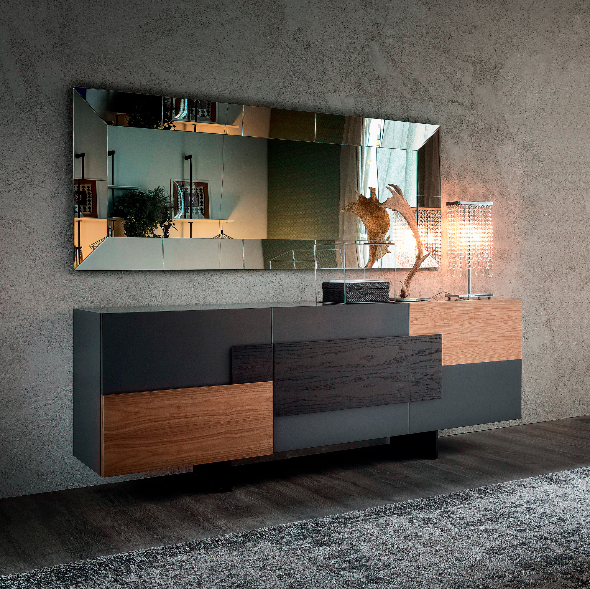 Torino high end contemporary sideboard italian designer for High end catalogs for home decor