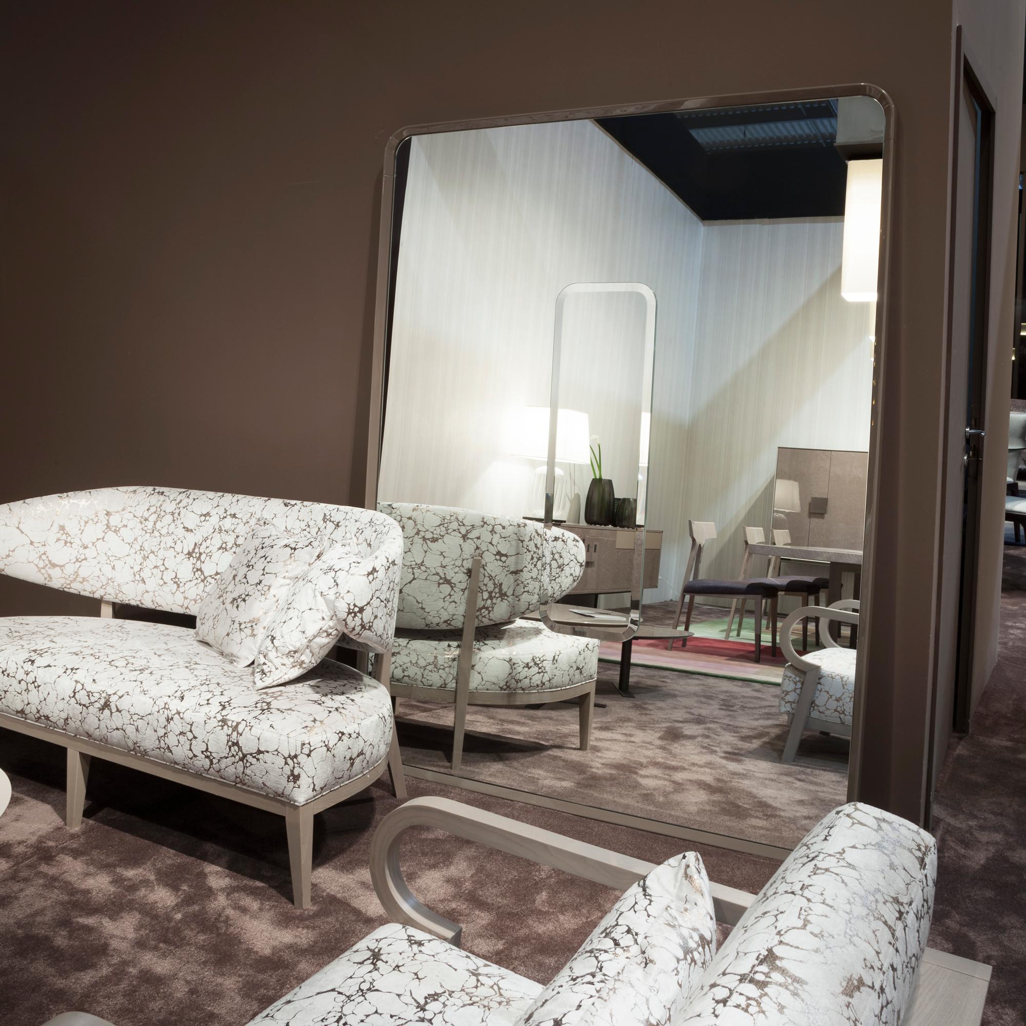 High End Italian Designer Symbol Mirror Italian Designer