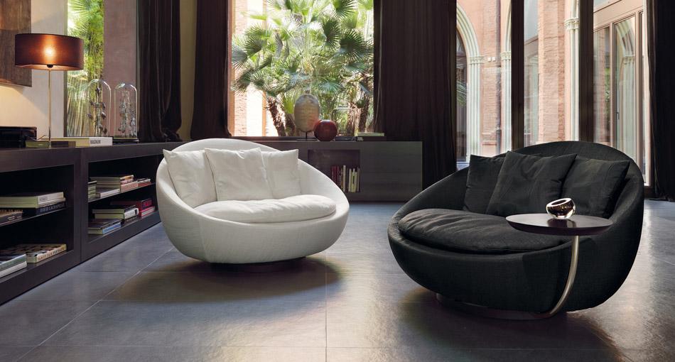 Lacoon Elegant Contemporary Italian Lounge Chair Italian Designer