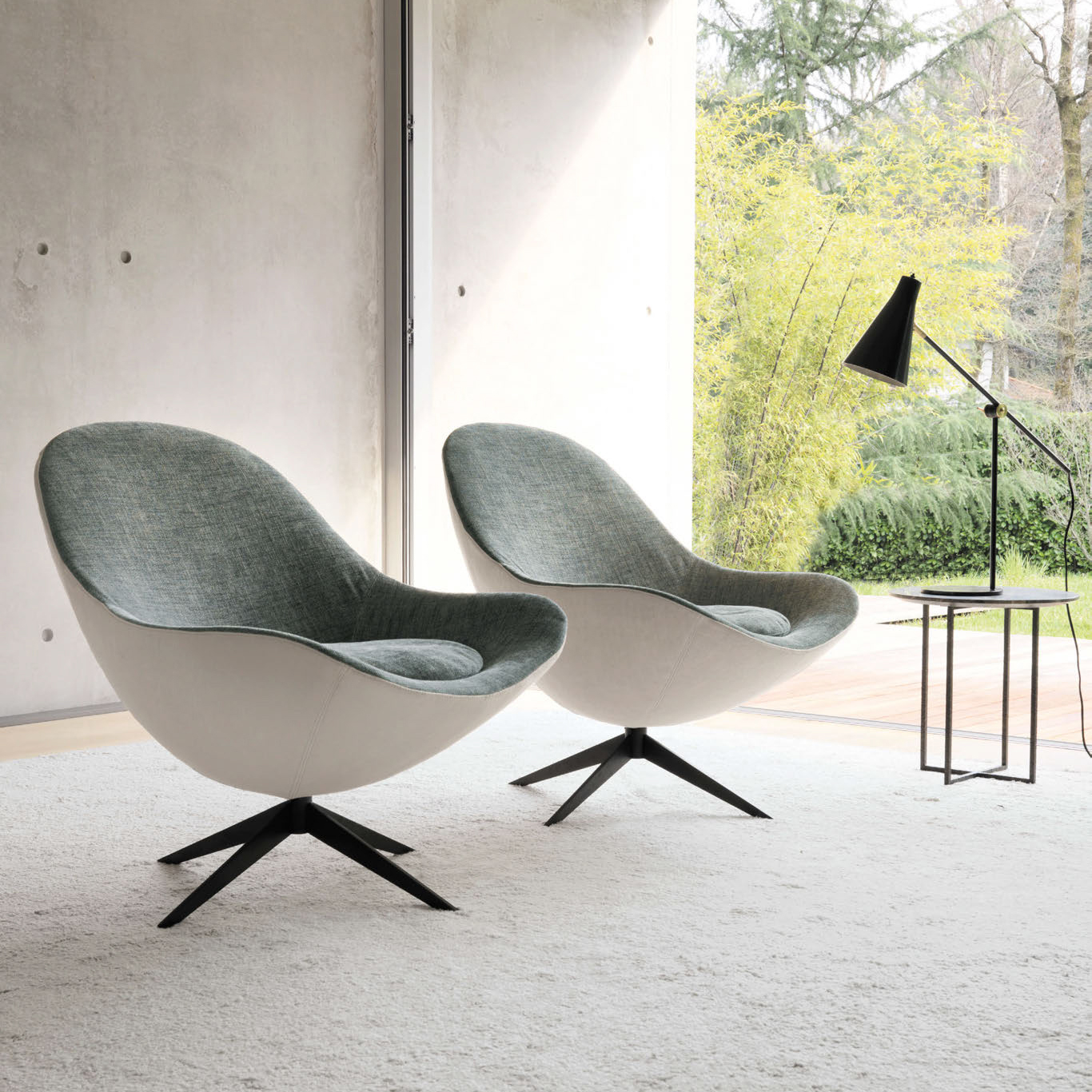 Luxury Italian Soor Lounge Chair Italian Designer