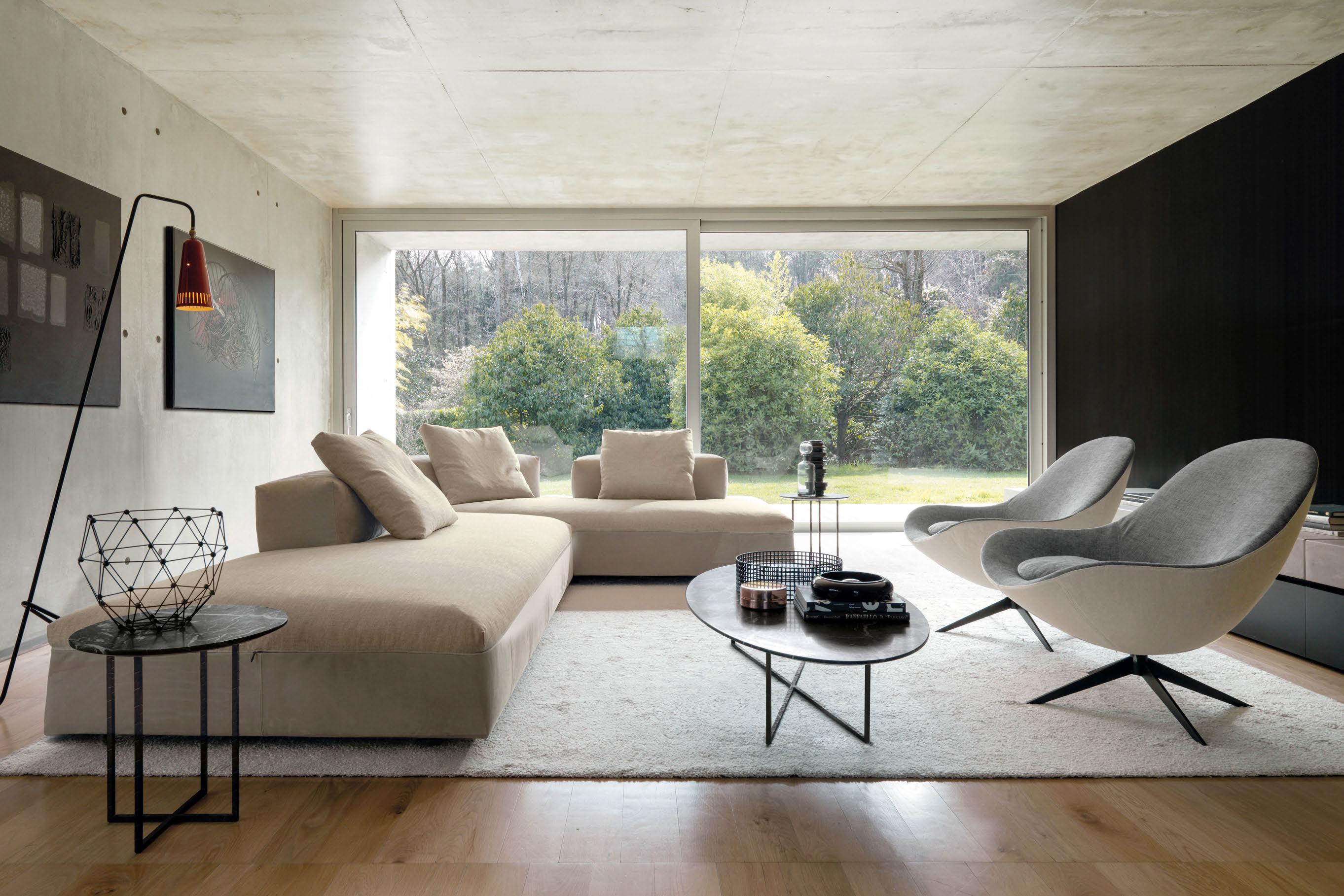 Luxury italian soor lounge chair italian designer for Living room lounge chair
