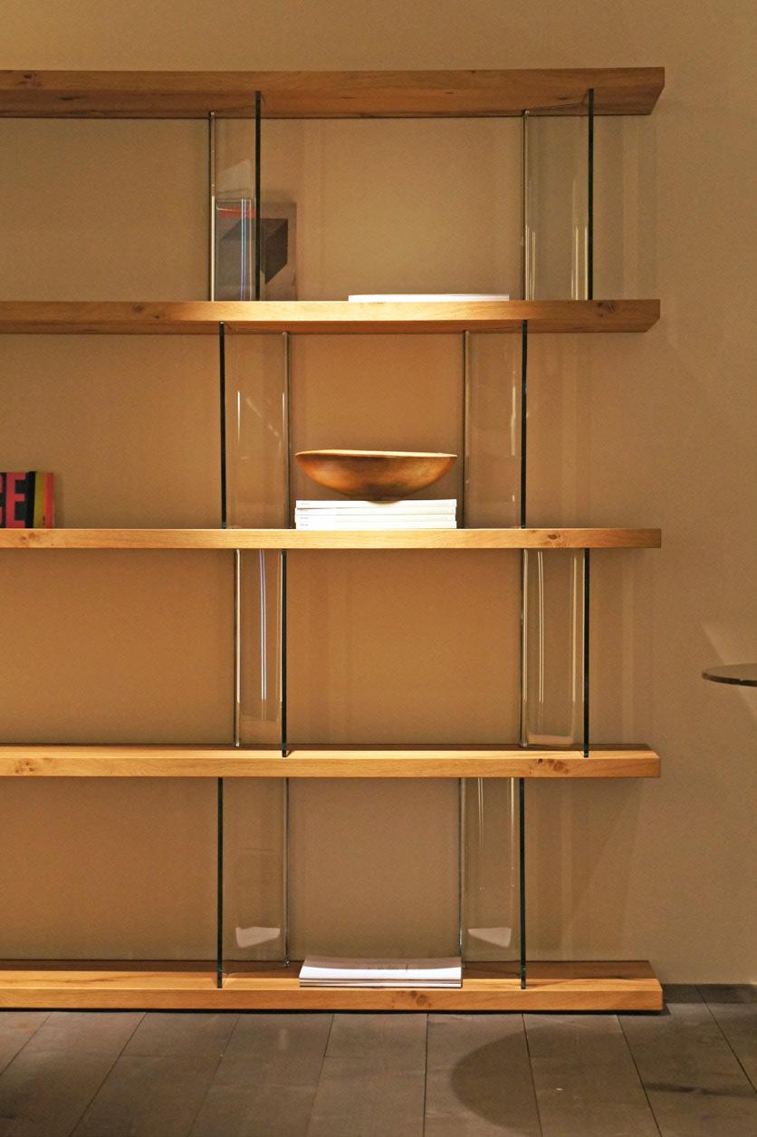 Luxury Italian Designer Inori Bookcase Italian Designer