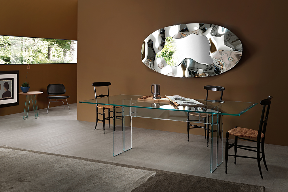 Contemporary Italian Phantom Mirror Italian Designer