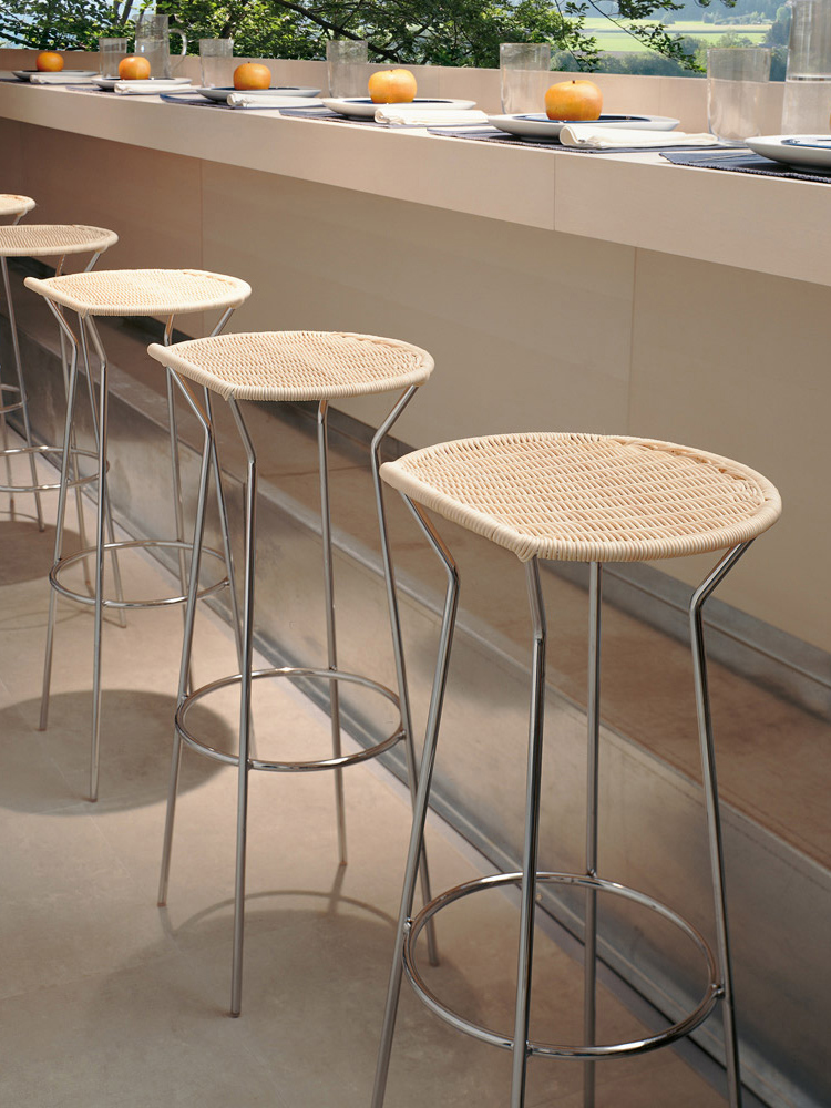High end italian designer bar stool italian designer for High end bar stools